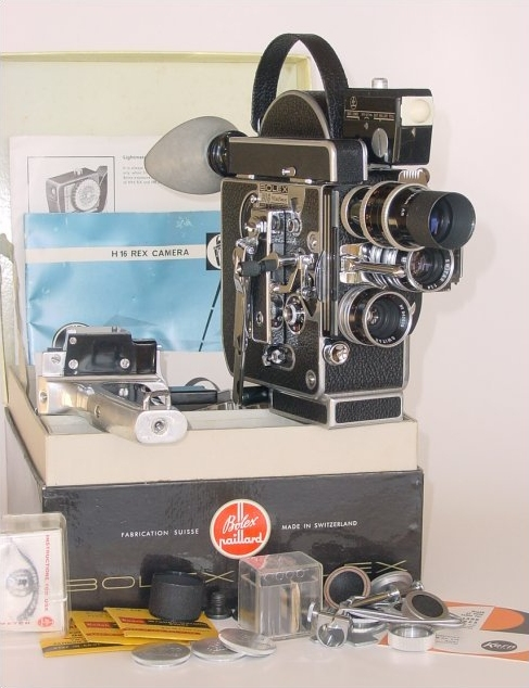A Bolex Unboxed with Accessories