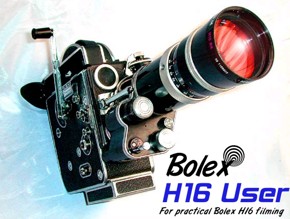 Welcome to Bolex H16 User