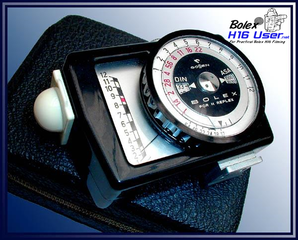 Light Meter with Leather Case
