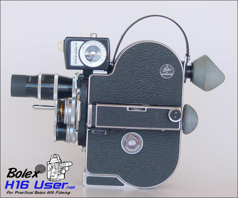 Light meter attached to Camera