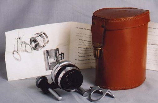 Anamorphic Lens with carry case and Instructions
