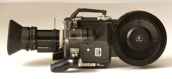 Sideshot of Bolex Professional