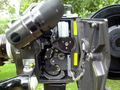 Inside the Bolex Professionals film chamber