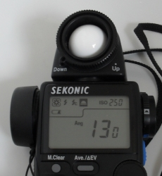 Modern Meters Can be set to Bolex 130 Degree Shutter Angle