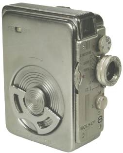The Bolsey 8, worlds smallest cine camera