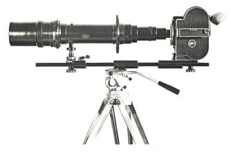 Intermediate support used on a Tripod