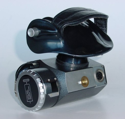 Sideview of Bolex Power Handgrip